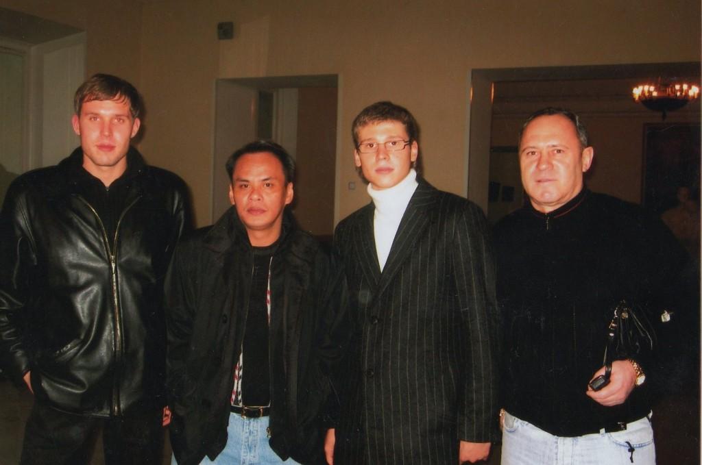 Франциско Бустаманте и Данил Богушевский